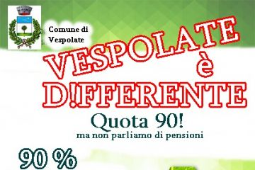 quota 90% di raccolta differenziata!